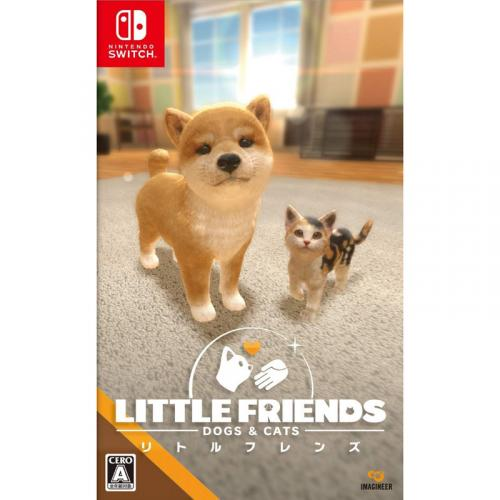LITTLE FRIENDS - DOGS & CATS - Nintendo Switch 新品 NSW (HAC-P-AQQDA)