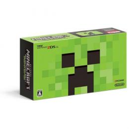 MINECRAFT Newニンテンドー2DS LL CREEPER EDITION (JAN-S-MBDG) 2DSLL 3DS 本体 新品