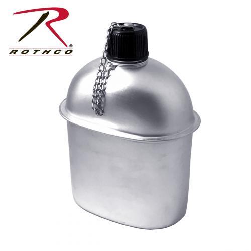 ロスコ ROTHCO ウォーターボトル G.I.スタイル アルミニウム カンティーン