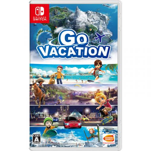 GO VACATION  Nintendo Switch 新品 NSW (HAC-P-AF2GC)